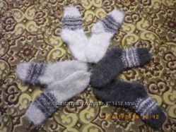 Носки вязані з овчини, шкарпетки