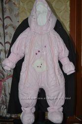 Комбинезон-трансформер на девочку 3-6 месяцев