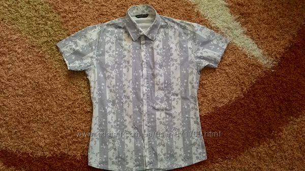 Стильная турецкая рубашка супер качество для подростка.