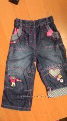 Джинсики с Минни, джинсики George, 12-18 мес.