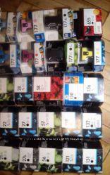 Картридж HP 177 новые оригинальные цветные чёрные