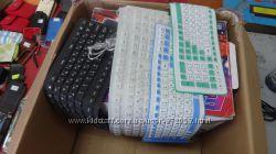 Продам гибкую пыле водонепроницаемую клавиатуру
