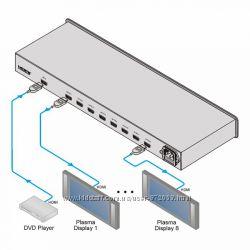 HDMI разветвитель Kramer VM-8HDMI Усилитель-распределитель 1x8 сигнала