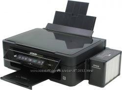 Продам МФУ Epson L366 Wi-Fi, цветной, заводская СНПЧ, Новый