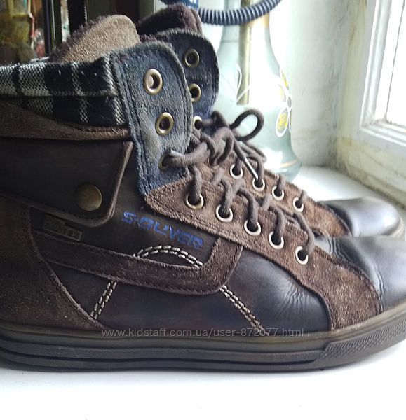 Ботинки s-oliver р 37