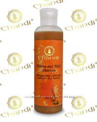 Натуральный индийский шампунь Хна Chandi