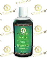 Натуральное масло для волос Травяное Chandi