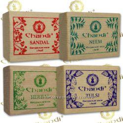 Натуральное индийское мыло ручной работы Chandi