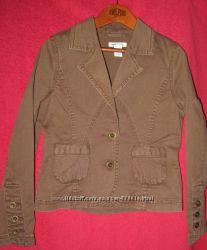 Ветровка H&M пиджак джинсовый для девочки Р. 134