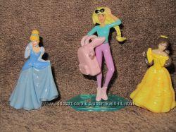Игрушки из Kinder. принцессы Дисней, Барби, Смешарики и другие