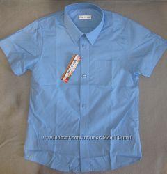 Рубашки новые школьные-мальчики 7-8, 11-12, 12-13