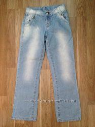 Джинсы Gloria Jeans р. 134-140 почти новые