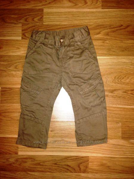 Стильные джинсы Mothercare на 12-18 мес. в отличном состоянии