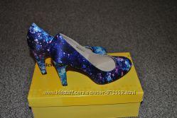 Туфли текстиль синие 38 размер