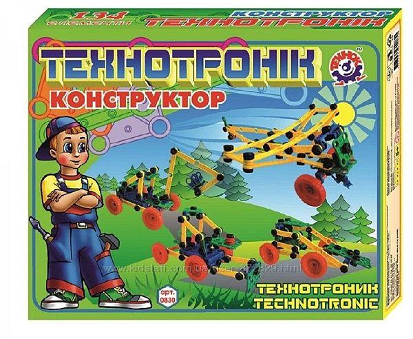 Конструктор Технотроник ТехноК, 0830 134 детали, 6 моделей