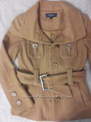 Пальто полупальто Nysense шерсть Очень хорошее состояние