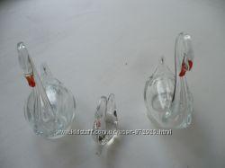 Статуэтки из стекла и фарфора