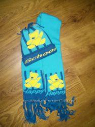 Комплект шапка и шарф от 1 до 4 лет