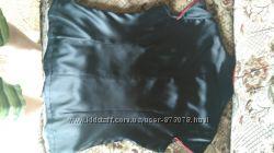 Черно-красная женская блуза шелковая в восточном стиле, одевалась 1 раз