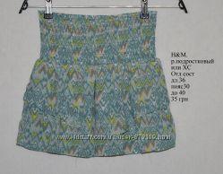 Шифоновая юбка H&M. На ХС или подростка. в орнамент, узоры