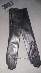Длинные высокие Перчатки из натуральной кожи