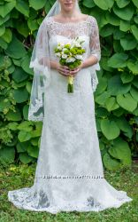 Свадебное платье Diamond и фата