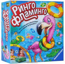 Ринго Фламинго. Настольная игра от Равенсбургер