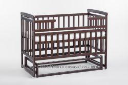Детская кроватка Лодочка без ящика венге, ОТ ПРОИЗВОДИТЕЛЯ
