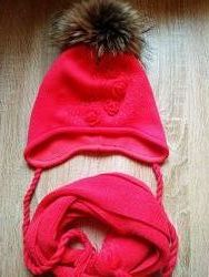 Шапочка и шарфик на зиму