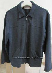 Трикотажный пиджак-куртка XL