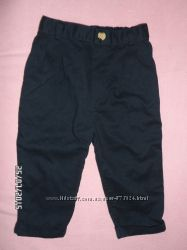 Модные штанишки на мальчика 6-9 мес