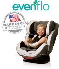 Детское автокресло evenflo от 0 - 12 лет isofix США от 2 - 49 кг недорого