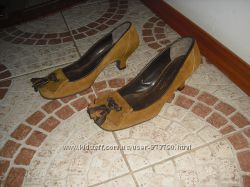 Туфлі Julie Del 35 розмір шкіра Італія