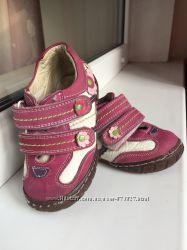 Туфли мокасины кроссовки для девочки Red Kids оригинал кожа, 13, 5см стелька