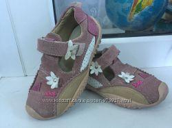 Кожаные туфельки BAREN SCHUL Германия 23-24р. оригинал