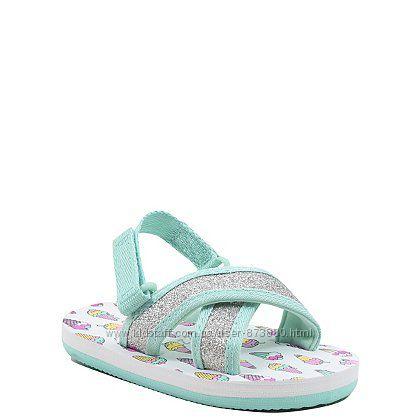 Веселі та яскраві босоніжки для маленької принцеси, розмір 7