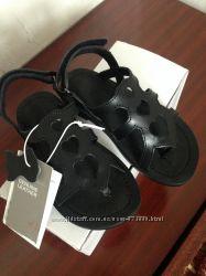 Шкіряні босоніжки H&M, 24 розмір