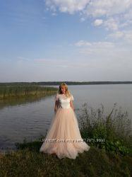 Романтичное и просто невесомое свадебное платье- Fly Wedding Dress