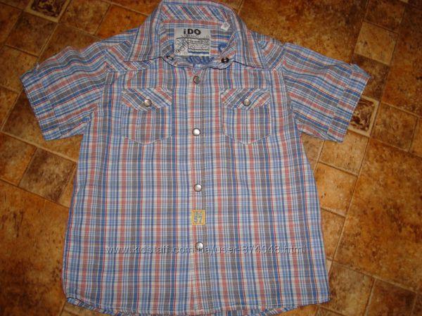 Рубашка на кнопках IDo  36м 98 Италия