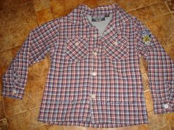 Рубашка KNOT SO BAD 3-4 года длинный рукав