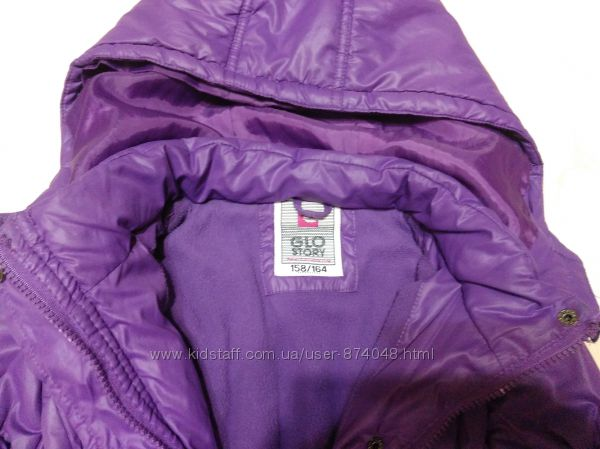 Классная курточка на флисе Glo-Story