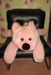 Медведь розовый Длина 80 см