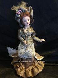 Коллекционная кукла ручной работы, фарфор