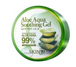 Гель алое вера  SKIN79 aloe aqua soothing gel 99 300G