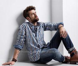 Рубашки мужские TCM tchibo М L XL XXL