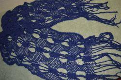 Ажурный мягенький шарф 160 см