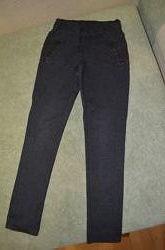 Штаны лосины с карманчиками на рост 122-126см