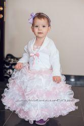 Нарядное пышное платье 1-3 года