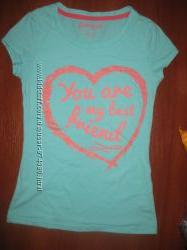 Яркая футболка на 10 лет сост. новой GLORIA JEANS