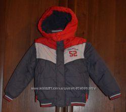 качественнгая 2 в 1 курточка жилетка COOL CLUB р. 104